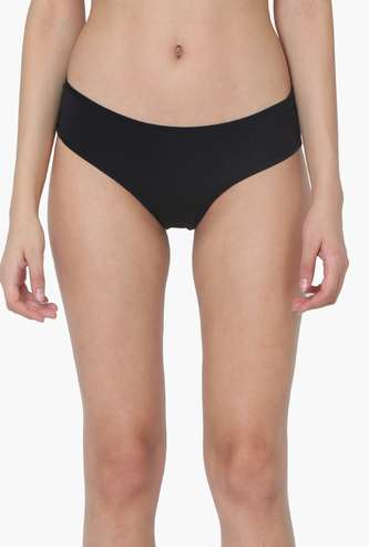 TRIUMPH Solid Knitted Hipster Panties- Set Of 3 Pcs.