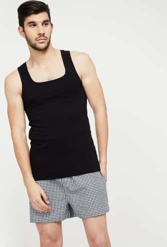 CHROMOZOME Cotton Solid Vest