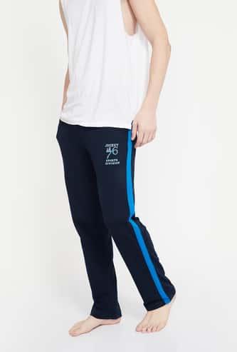 JOCKEY Printed Side Panelled Trackpants