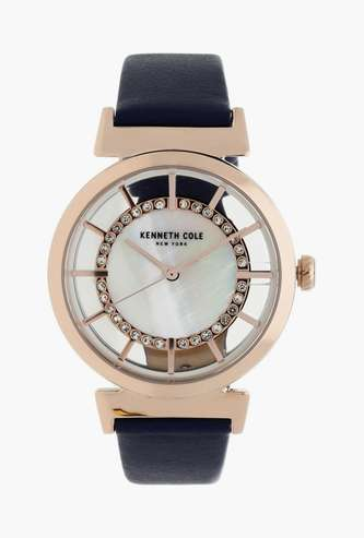 KENNETH COLE Women Analog Watch with Leather Strap - KC50230003LD