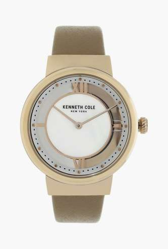 KENNETH COLE Women Analog Watch with Leather Strap - KC50231011LD