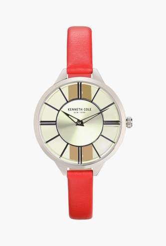 KENNETH COLE Women Water-Resistant Analog Watch - KC50538004LD