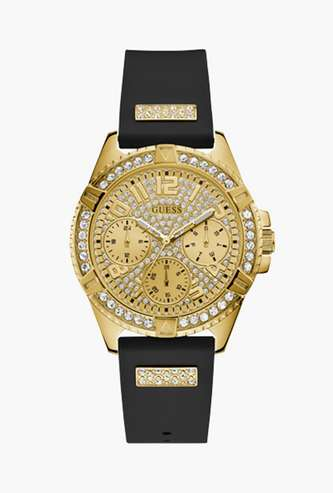 GUESS Women Analog Watch with Silicon Strap - W1160L1