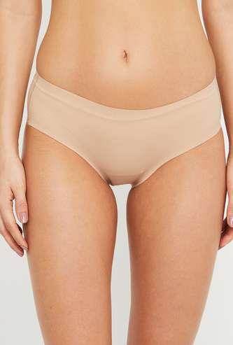 AMANTE Women Solid Hipster Panties
