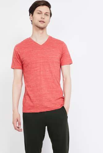 BOSSINI Solid Regular Fit T-shirt