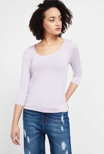 CODE Solid Bracelet Sleeves T-shirt