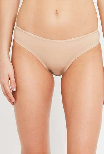 AMANTE Women Solid Elasticated Panty