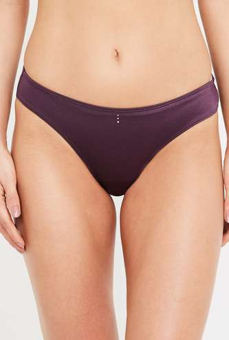 AMANTE Women Solid Hipster Panty