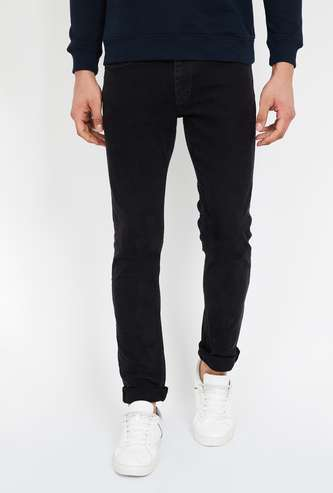 CELIO Lightly Washed Slim Fit Jeans