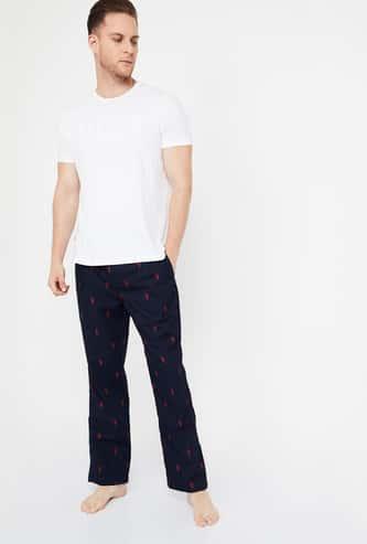JOCKEY Printed Elasticated Track Pants