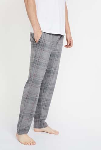 JOCKEY Slant Pocket Checked Pyjamas