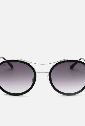 TOMMY HILFIGER Women UV-Protected Round Sunglasses-TH844C5S