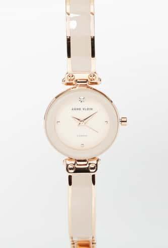 ANNE KLEIN Women Mother of Pearl Water-Resistant Watch - AK1980BMRG