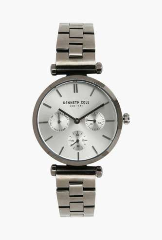KENNETH COLE Women Round Multifunctional Watch- NBKC50183008LD