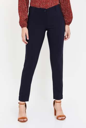 VERO MODA Women Solid Formal Trousers