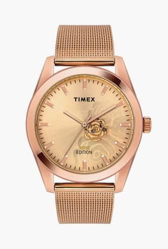 TIMEX Women Floral Pattern Analog Watch- TWEL13203