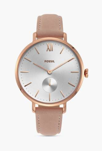 FOSSIL Kayla Women Analog Watch with Leather Strap - ES4572