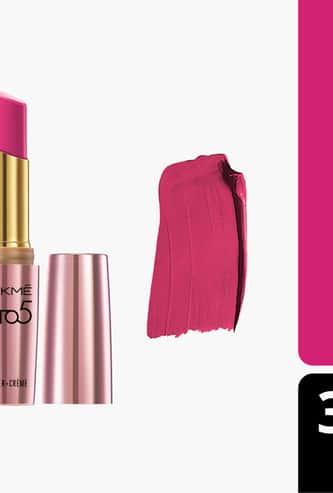 LAKME 9 To 5 Primer + Creme Lip Colour
