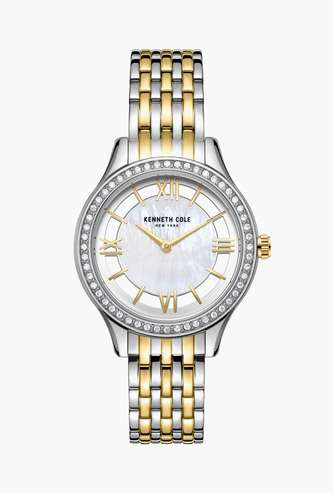 KENNETH COLE Crystal-Encrusted Analog Watch - KC50988002LD