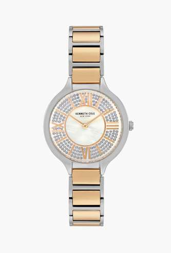 KENNETH COLE Women Mother of Pearl Dial Analog Watch - KC51011003LD