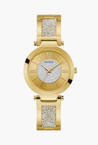 GUESS Solid Analog Round Dial Women's Wristwatch - W1288L2