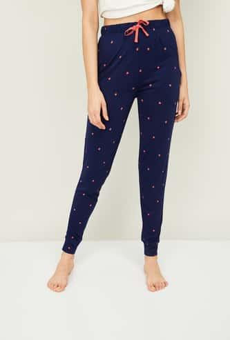 GINGER Women Printed Elasticated Pyjama