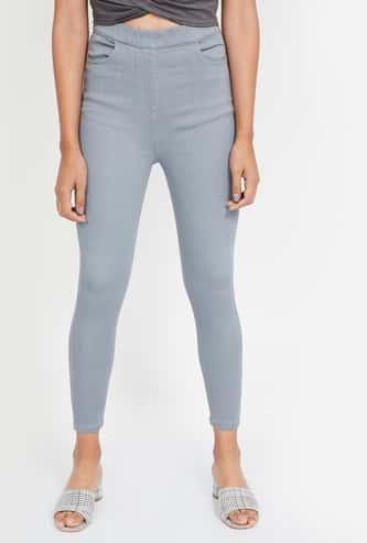 GINGER Solid Skinny Fit Jeans