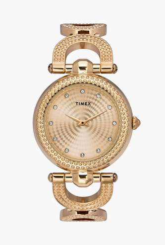 TIMEX Women Embellished Analog Watch-TWEL14102