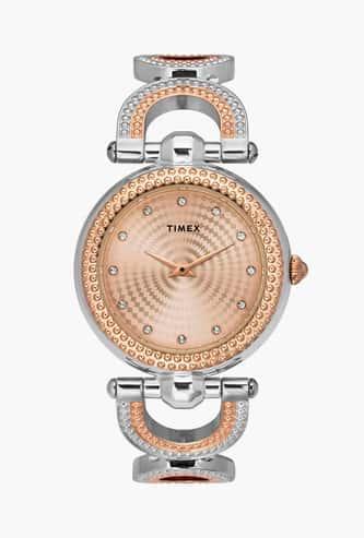 TIMEX Women Embellished Analog Watch- TWEL14105