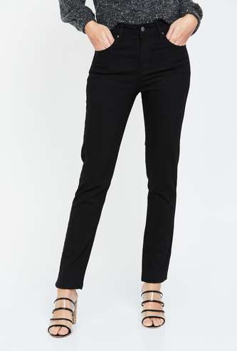 LEVI'S Solid High-Rise Skinny Jeans