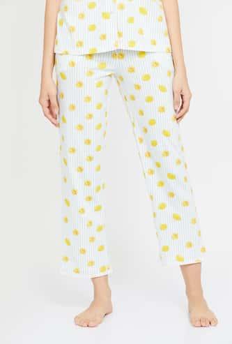 GINGER Women Printed Pyjama Pants