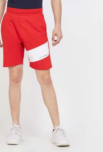 KAPPA Printed Elasticated Regular Fit Shorts