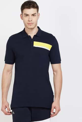 KAPPA Printed Regular Fit Polo T-shirt