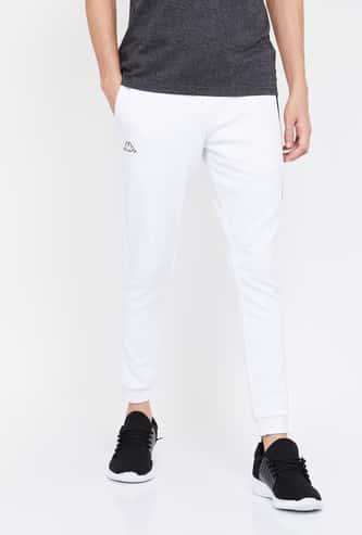 KAPPA Men Textured Slim Fit Joggers