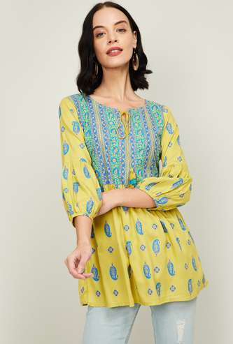 COLOR ME Women Printed Tunic