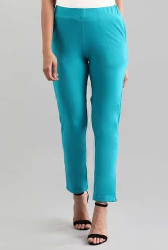 AURELIA Women Solid Straight Pants