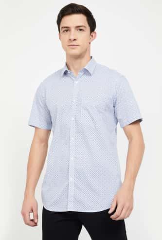 COLORPLUS Printed Regular Fit Casual Shirt