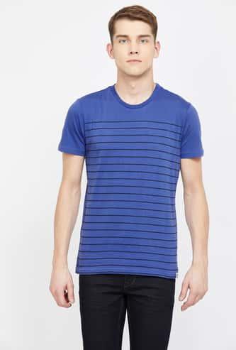 LEE Striped Regular Fit Crew Neck T-shirt