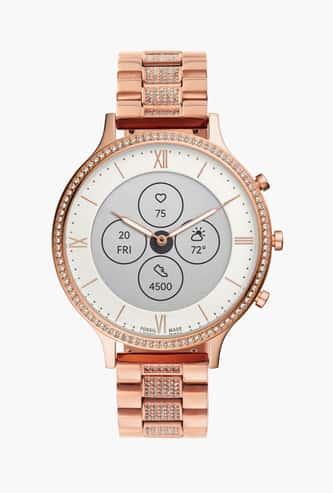 FOSSIL Women Hybrid HR Charter Smartwatch - FTW7012