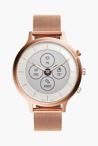 FOSSIL Women Hybrid Steel Mesh Smartwatch - FTW7014