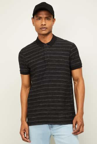 FORCA Men Striped Short Sleeves Polo T-shirt