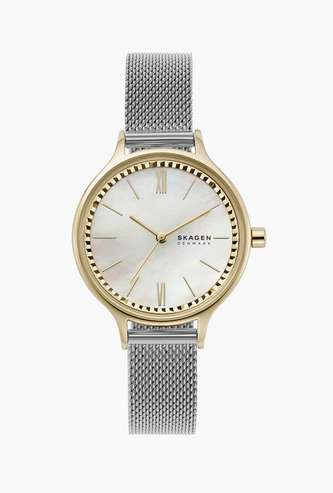 SKAGEN Anita Women Analog Watch with Mother of Pearl Dial - SKW2866