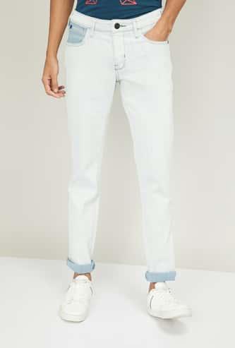 WRANGLER Men Solid Slim Fit Jeans