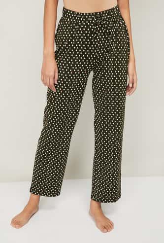 GINGER Women Printed Lounge Pyjama