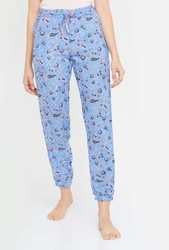 GINGER Women Floral Print Lounge Joggers