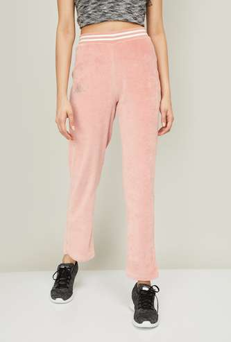 KAPPA Women Solid Ankle-Length Track Pants