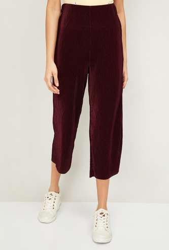 GINGER Women Solid Culottes