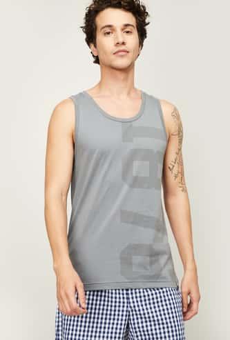 JOCKEY Men Typographic Print Vest