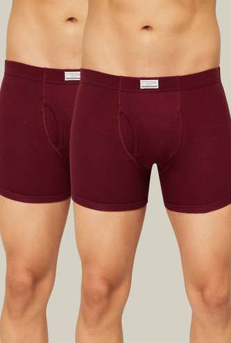 U.S. POLO ASSN. Solid Trunks - Set of 2