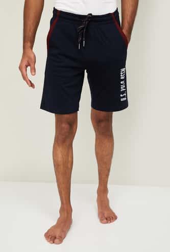 U.S. POLO ASSN. Men Printed Elasticated Shorts